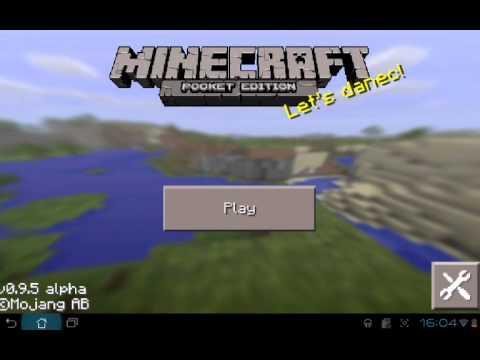 Как в Minecraft pe из креатива перейти в выживание!!!