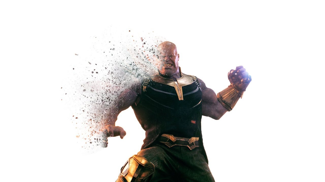 How to Create Thanos Dust Explosion Effect From Avengers infinity war in  photoshop