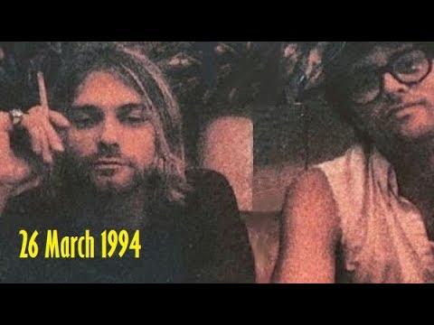 Last photos of Kurt Cobain alive