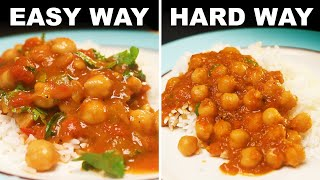 Chana masala - Indian-style chickpeas in spicy gravy