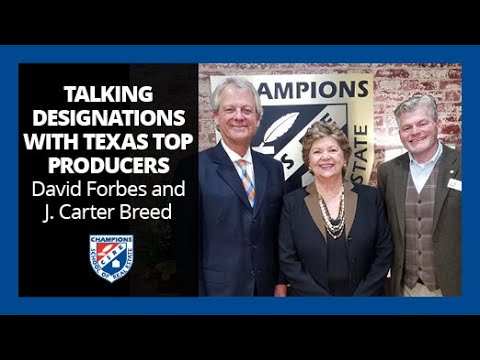 Texas Real Estate Top Producers Interview with Devin Forbes and J. Carter Breed