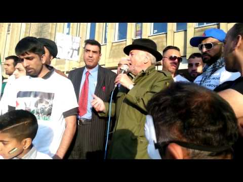 G Galloway speech - Gaza Demo at Bradford 13.07.14