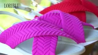 Сандалии в спортивном стиле   Видео-обзор на босоножки Loriblu
