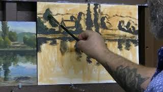 Une autre peinture, comment emmener l'œil sur le centre d'intérêt