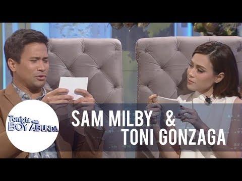 TWBA: Fast Talk with Sam Milby and Toni Gonzaga