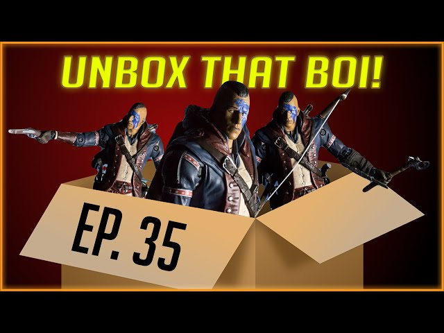 Revolutionary Connor - Assassin's Creed - McFarlane Toys | Unbox That Boiii! - Ep. 35