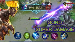 GORD SKIN 74 win rate in more than 4,700 games. -Mobile Legends