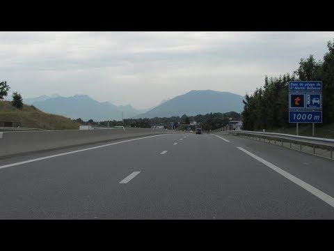 France: A41 Genève - Chambéry