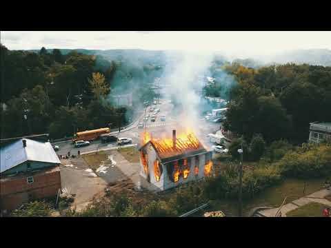 Naugatuck Controlled Burn 09.27.2018 Prospect Street