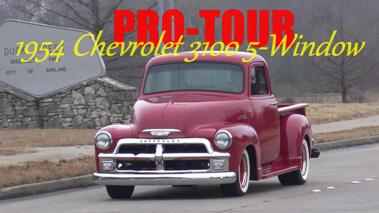 Ultimate Street Rodded Pro Touring 1954 Chevrolet 3100 Series 5 Chevy C10 Pick Up Window Truck