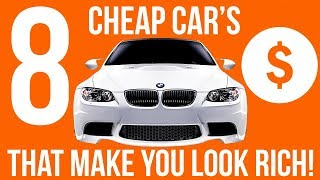 Top 10 Cars - Top 8 Cheapest Cars That Make You Look Rich!