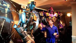 Atom from Real Steel and John Rosengrant from Legacy Effects