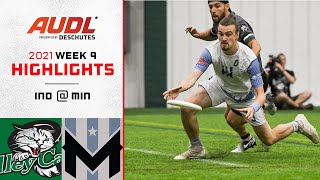 Indianapolis AlleyCats at Minnesota Wind Chill | Week 9 | Game Highlights
