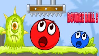 Bounce Red Ball 5 - Jump Ball Hero Adventure Gameplay Walkthrough All Level 26-40 (Android,ios)