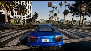 GTA 6 NEW MOST REALISTIC GRAPHICS PC 2018 60 FPS | REDUX & NaturalVision Remastered GTA V MOD