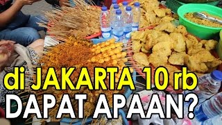 Di JAKARTA Uang 10 ribu Dapat Kuliner Apa??? ft. Bule Kulineran & Ngakak Yuk Production - Stafaband