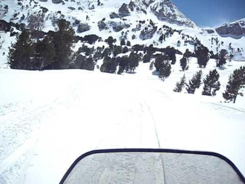 Ruby mountain sledding