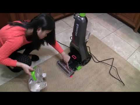 Bissell TurboClean PowerBrush Pet Carpet Cleaner 2085: live test