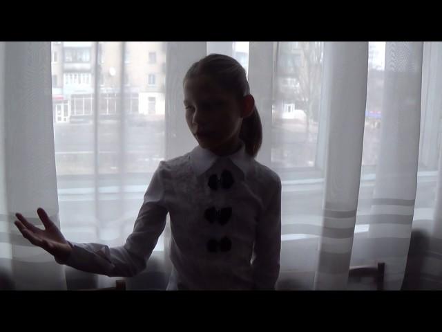 Изображение предпросмотра прочтения – ВероникаИванова читает произведение «Снежок» Ф.И.Тютчева