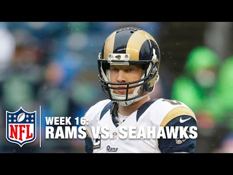 Johnny Hekker Shoves Cliff Avril & Then Cowers in Fear of Seahawks  | Rams vs. Seahawks | NFL
