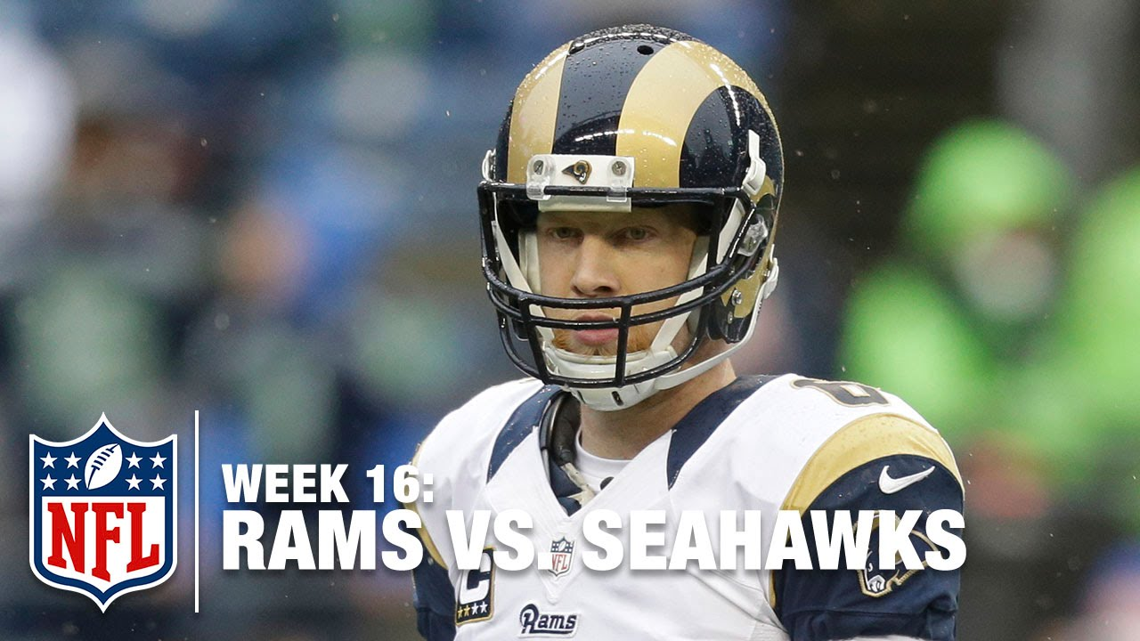 Johnny Hekker Shoves Cliff Avril & Then Cowers in Fear of Seahawks