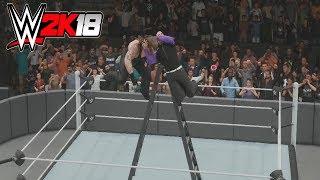 WWE 2K18  - Jeff Hardy Vs Undertaker
