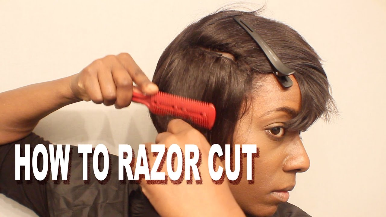 How to Razor Cut a Short Wig Detroit Style + Wig Sale Announcement  BEAUTYCUTRIGHT