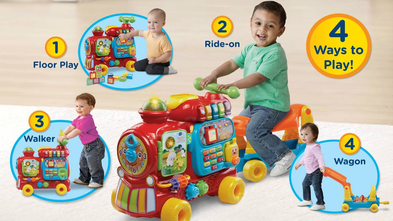 VTech Infant & Toddler Sit to Stand Ultimate Alphabet Train