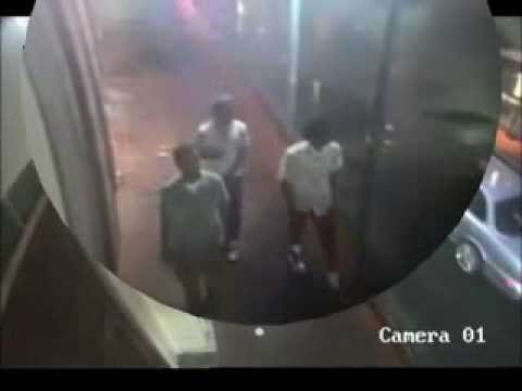 Security cam footage benny hill theme song 6