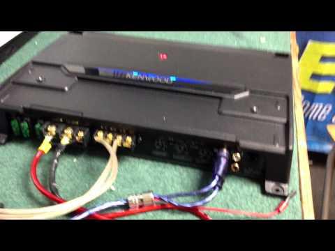 KENWOOD KAC-9105D MONO AMP - YouTube on