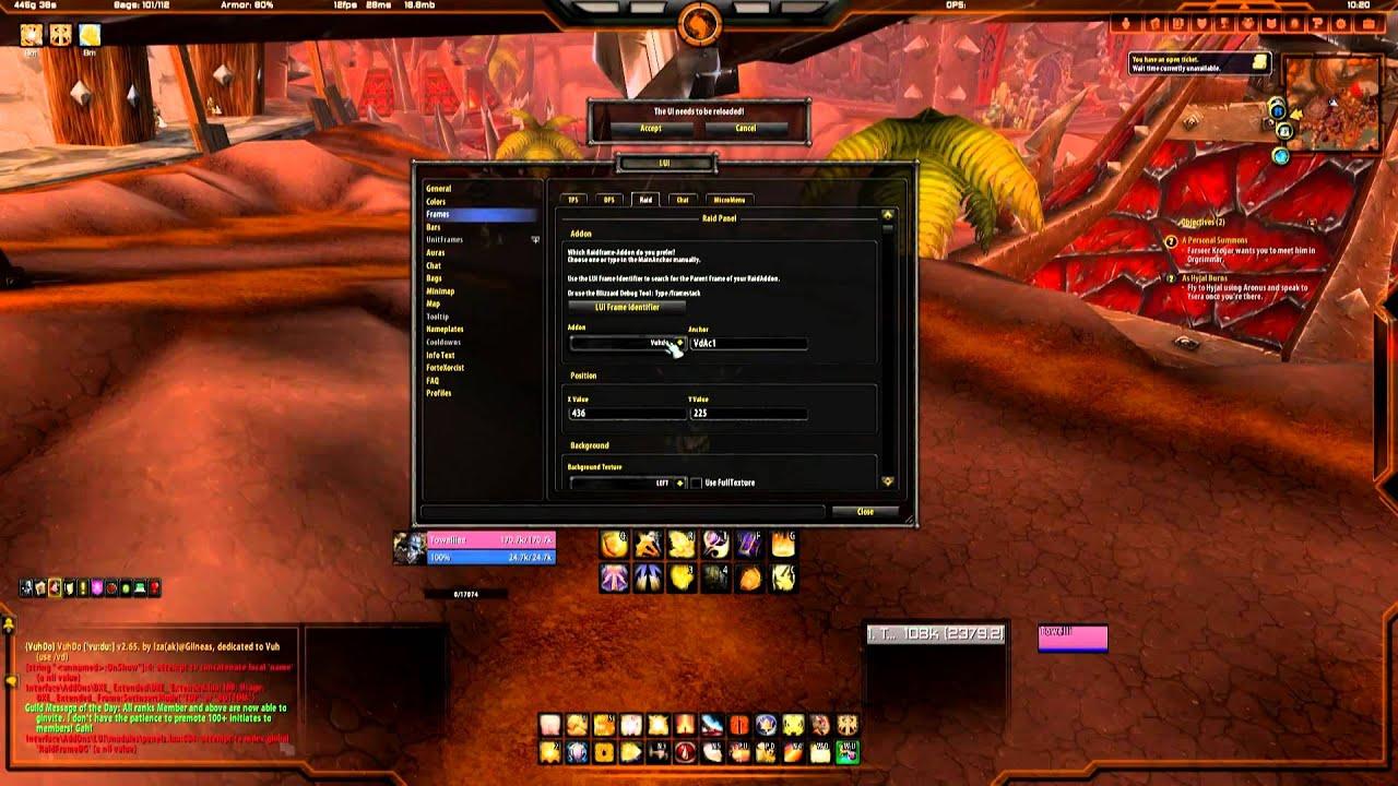 World Of Warcraft Lui