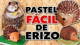 PASTEL FÁCIL DE ERIZO - EXPECTATIVA/REALIDAD PASTELES PRÁCTICOS Y PERRONES DEL INTERNET