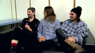 30 Seconds To Mars Answering Fan-Questions (joiz)