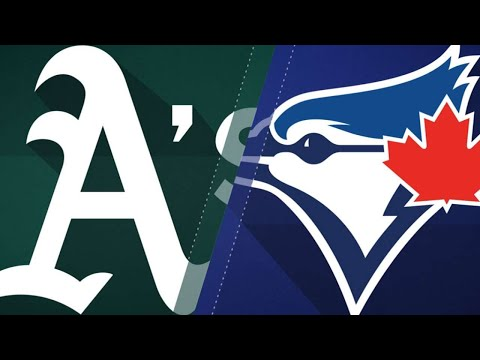 Pinder's grand slam lifts A's over Blue Jays: 5/19/18