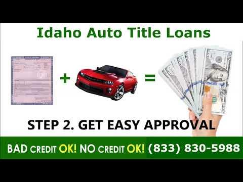 Idaho Auto Title Loans