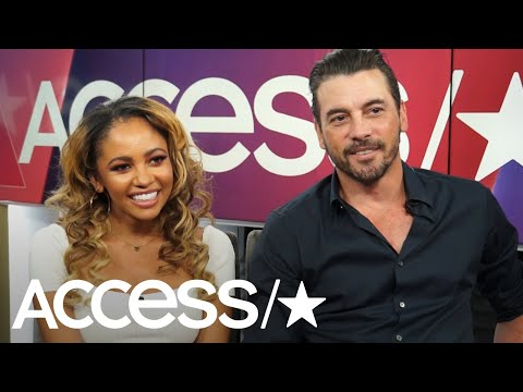 'Riverdale's' Vanessa Morgan & Skeet Ulrich On Cheryl Joining The Serpents, Alice & The Farm