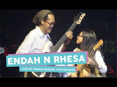 [HD] Endah N Rhesa - Cinta Dalam Kardus  (Live at Taman Budaya Yogyakarta, April 2017)