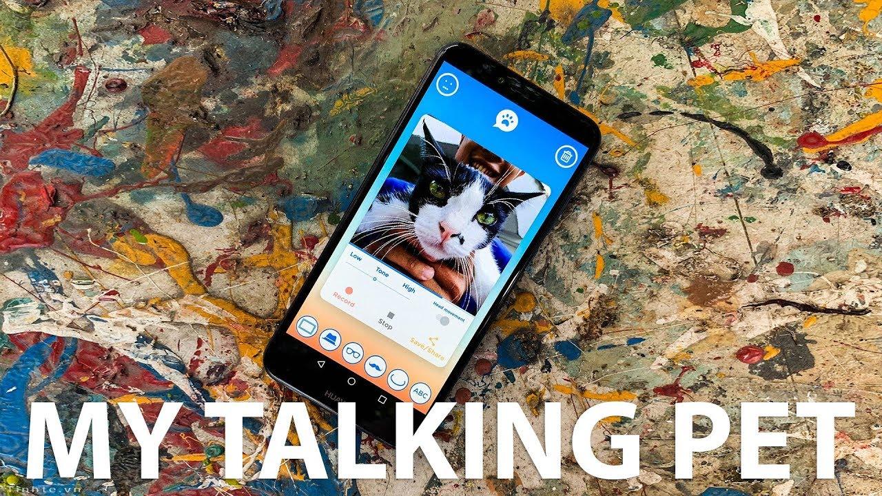 Dùng thử app My Talking Pet: giúp chó, mèo nói chuyện