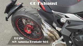 Top 6 Full Exhaust Sound MV Agusta Brutale 800 / SC-Project, GPR, QD Exhaust thumbnail