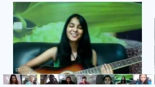 Shraddha sings Just Trust Me for her fans