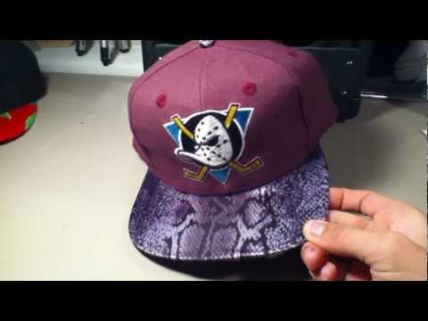 sports shoes 9ce3c f5b69 Custom Just Don Inspired Mighty Ducks Snapback Strapback  ProfessorSnapp  -  YouTube