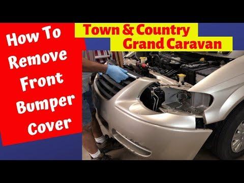 for 2005 Dodge Grand Caravan Rear Bumper Cover 2004 2003 2002