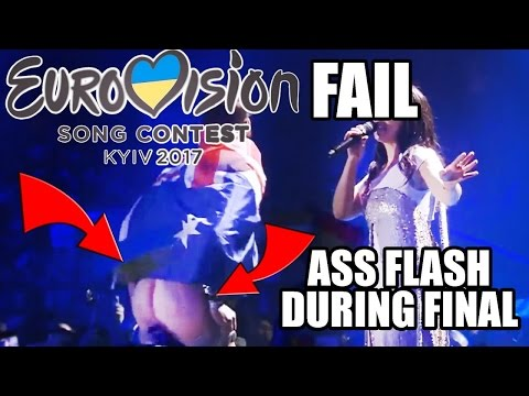 Best in Eurovision 2017: Vitalii Sediuk shows his butt during Jamala performance