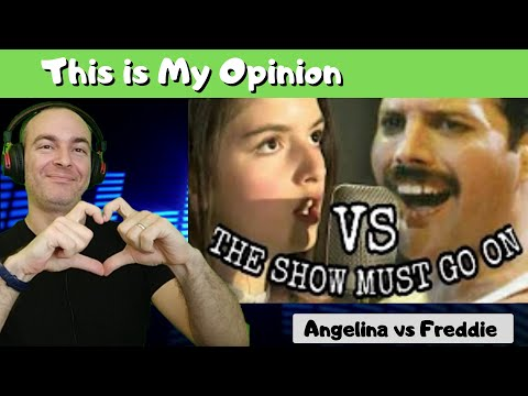 Angelina Jordan - The Show Must Go On By Queen | Original Vs Cover | Reaction