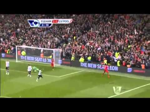 ผลฟุตบอลพรีเมียร์ลีกอังกฤษ  ฟูแล่ม 1 3 ลิเวอร์พูล