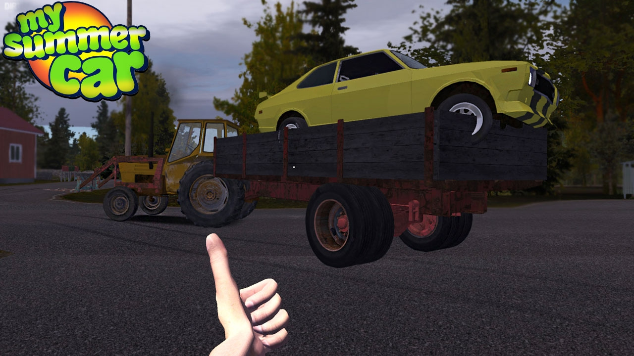 My Summer Car - TOWING HIM AWAY - YouTube