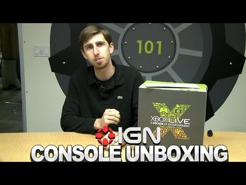 Unboxing The Rare Xbox Live Anniversary Console