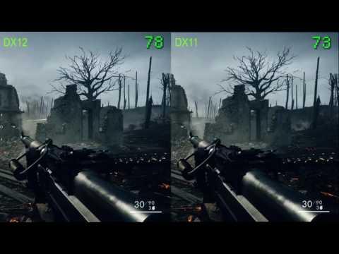 Battlefield 1 On Ultra DX11 Vs  DX12  DX12 Finally Works How