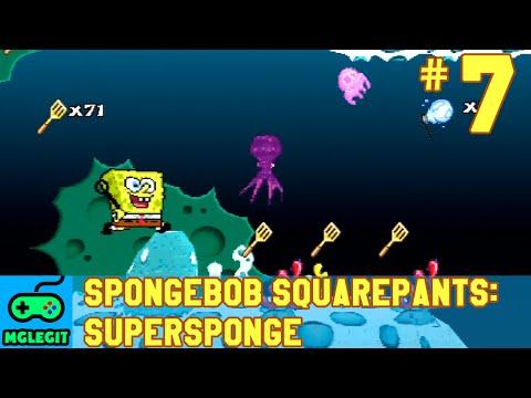 SpongeBob SquarePants SuperSponge Walkthrough Part 7 - Acrid Air Pockets (PS1) (No Commentary)