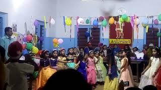 MSc. Lps.   Ponnumangalam.  School.  Dance